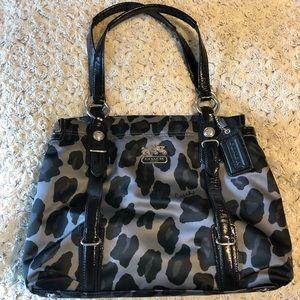 Coach Leopard Print Tote Bag- Like New